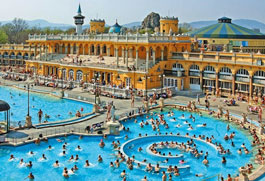 Heated swimming pool Hungary's most famous